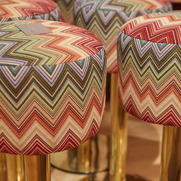 Colourful Mid 20th Century Bar Stools