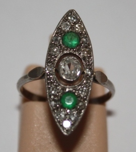 1920s Marquise Ring